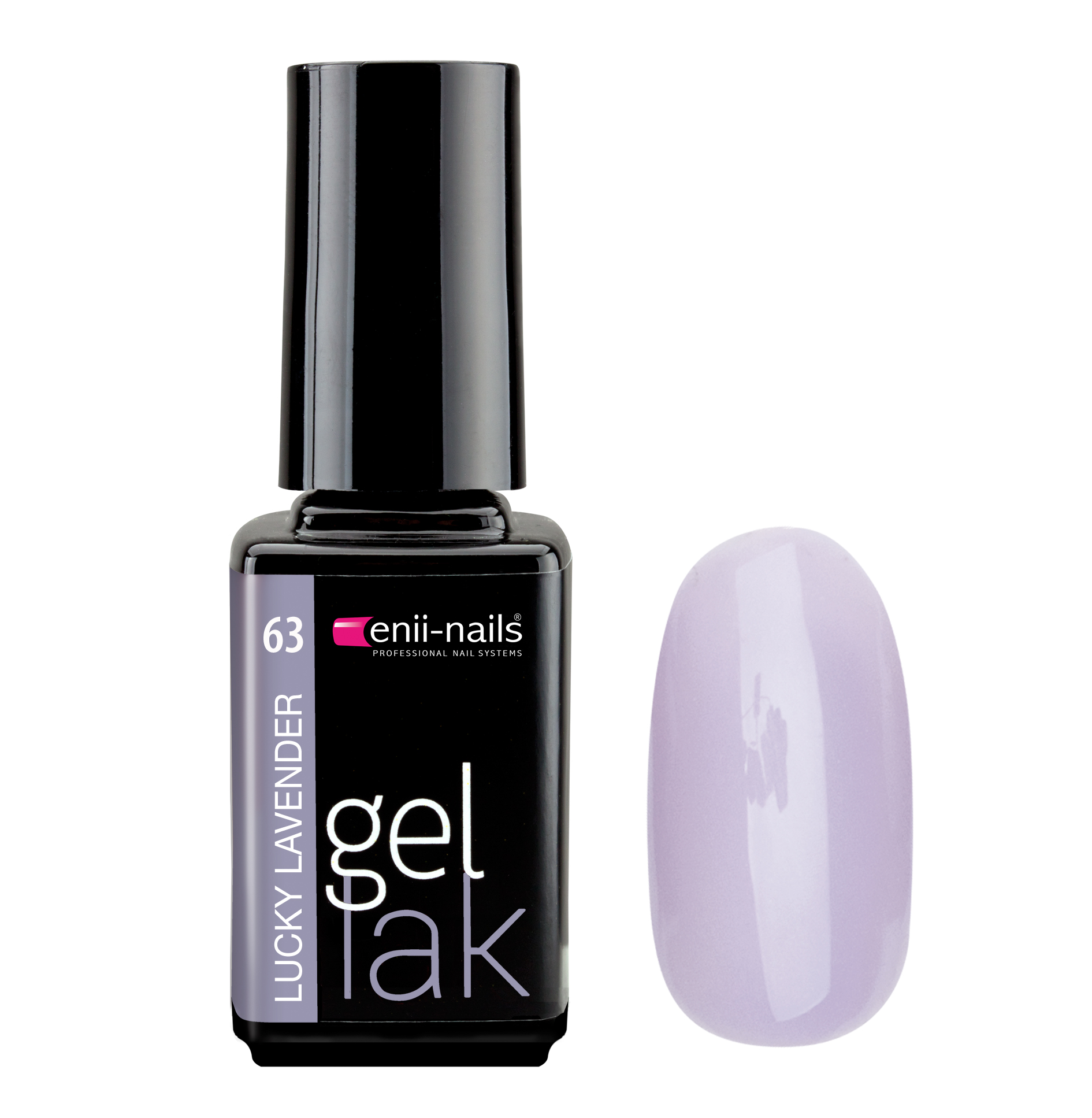 ENII-NAILS Gel lak Lucky Lavender 5 ml