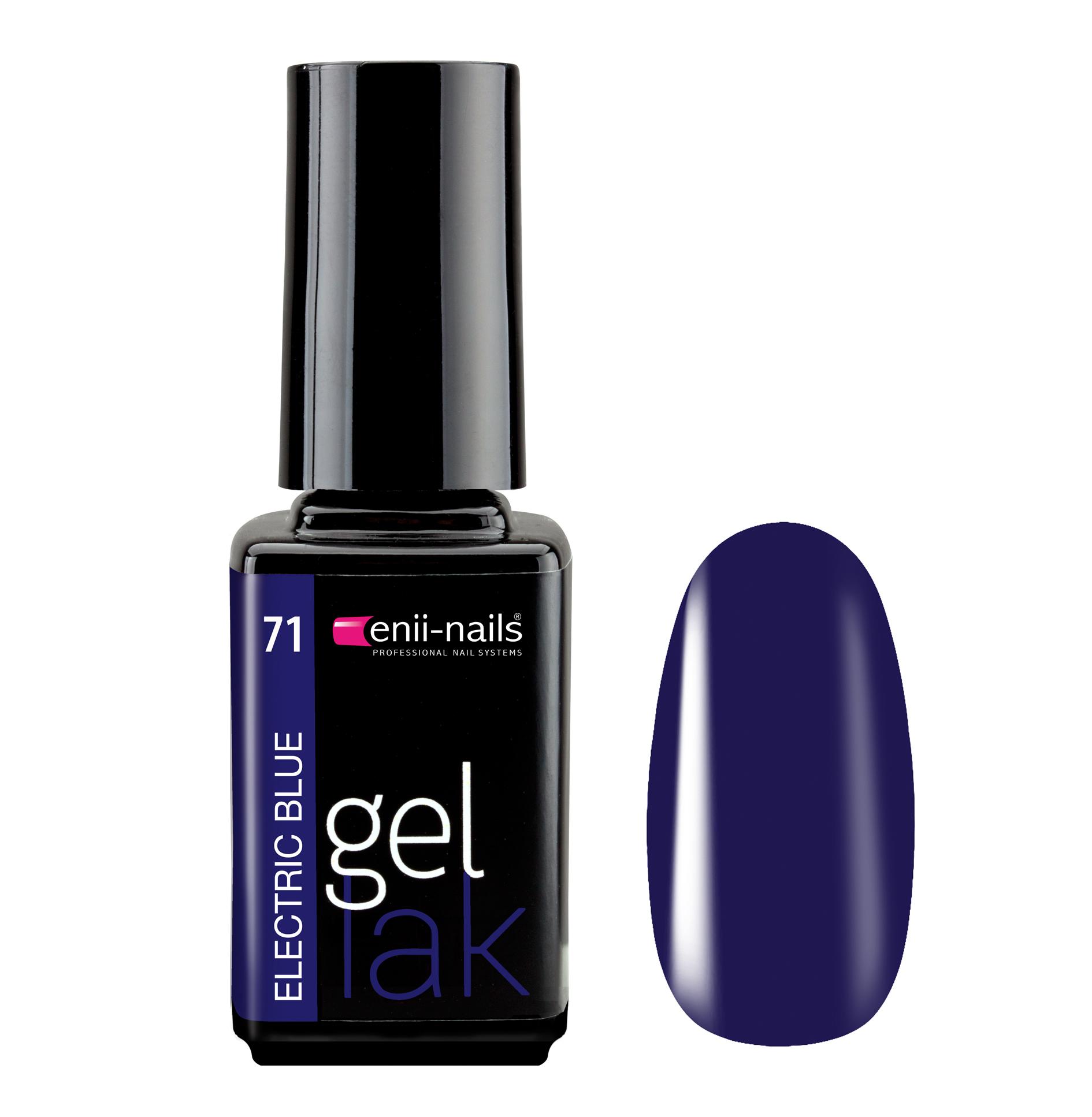 ENII-NAILS Gel lak Electric Blue 5 ml