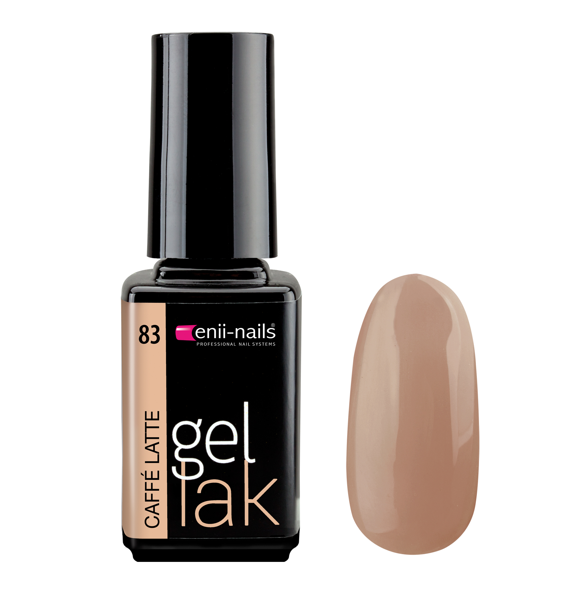 ENII-NAILS Gel lak Caffé Latte 5 ml