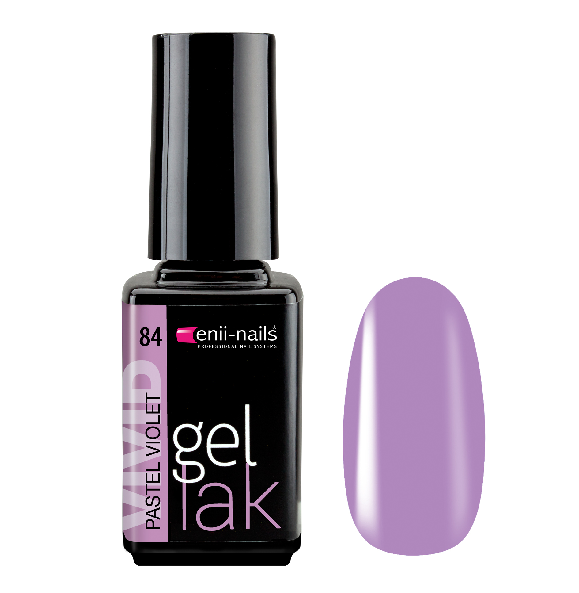 ENII-NAILS Gel lak Pastel Violet 5 ml