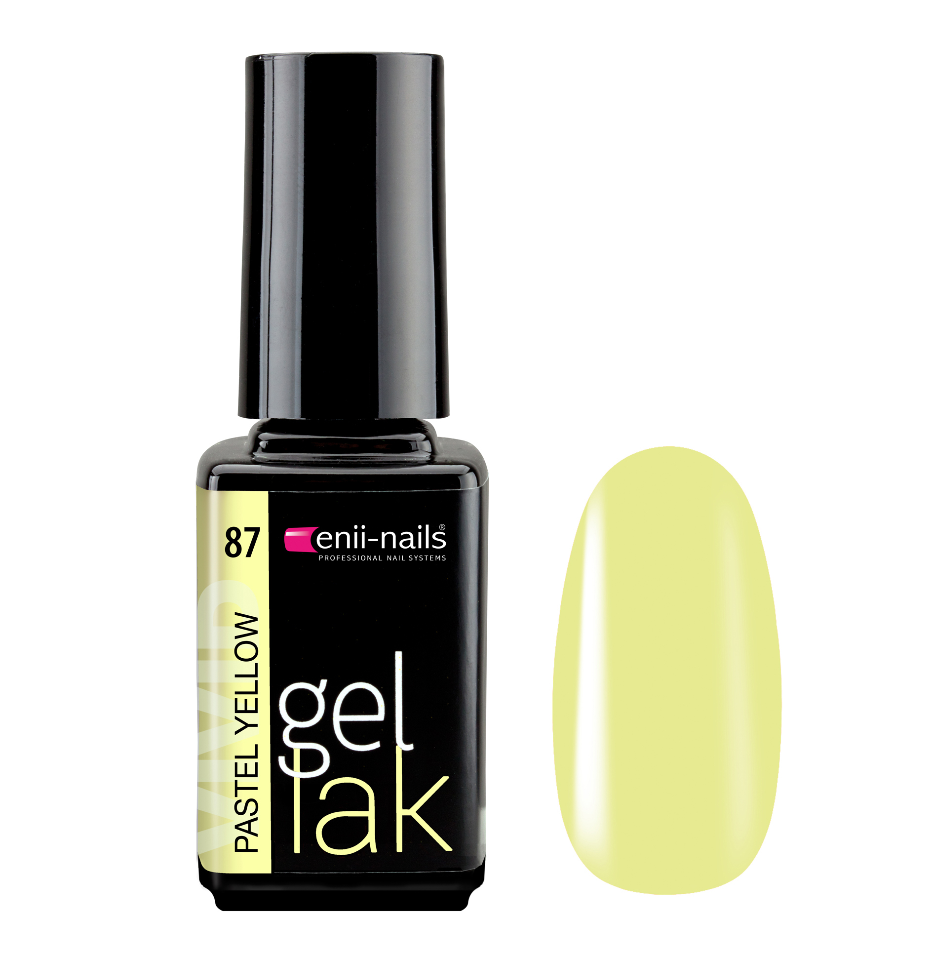 ENII-NAILS Gel lak Pastel Yellow 5 ml