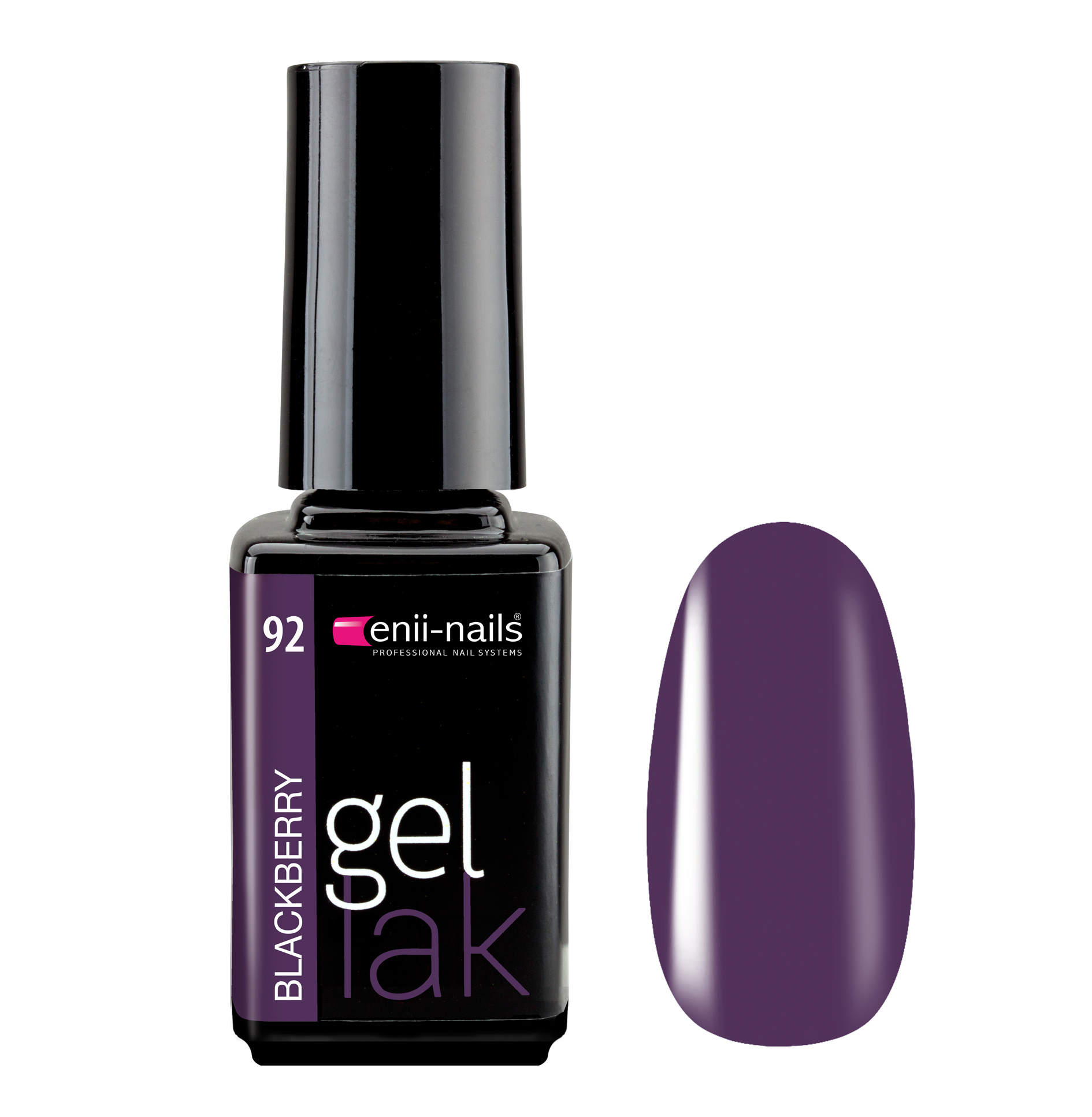 ENII-NAILS Gel lak Blackberry 5 ml