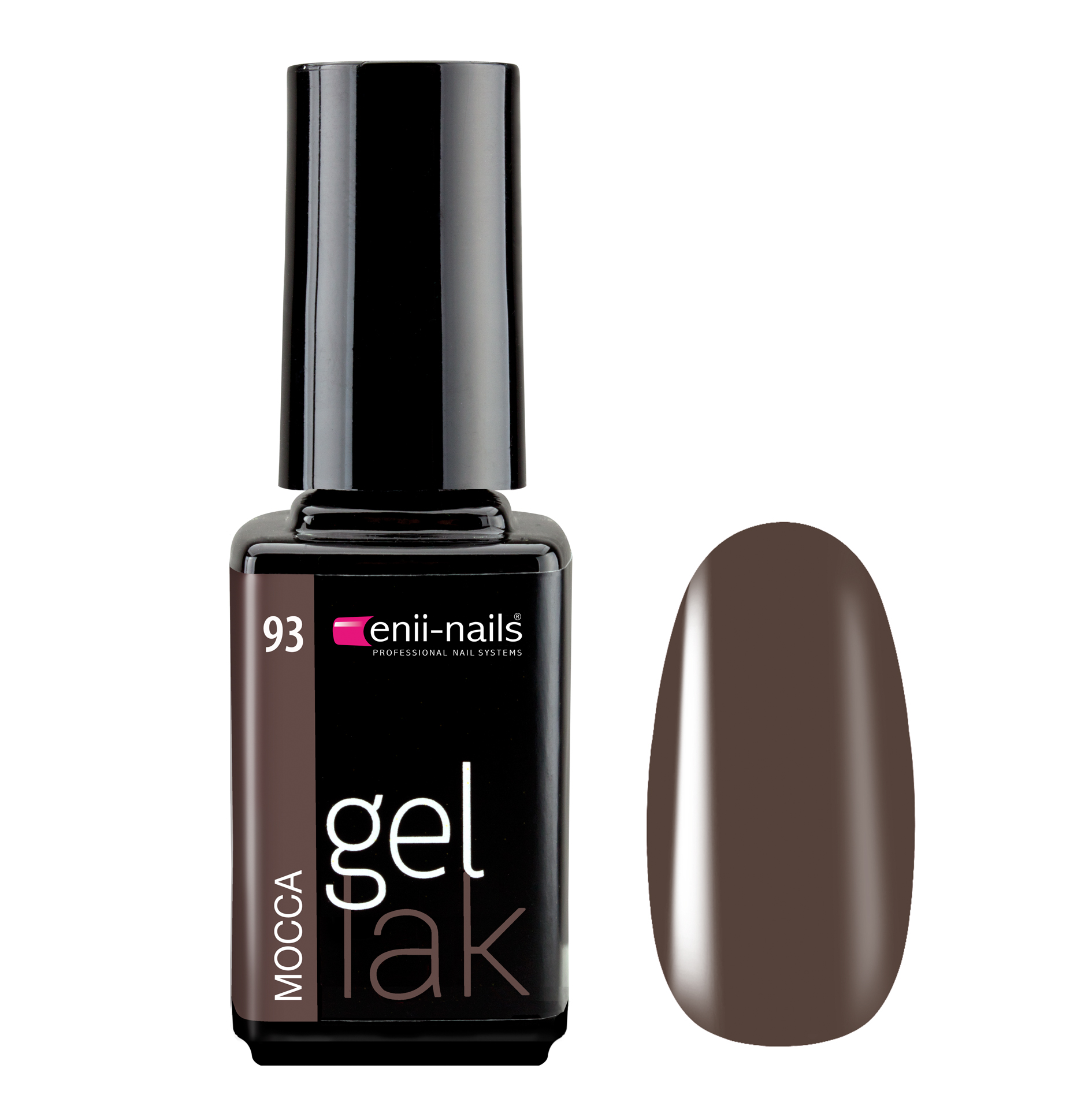 ENII-NAILS Gel lak Mocca 5 ml