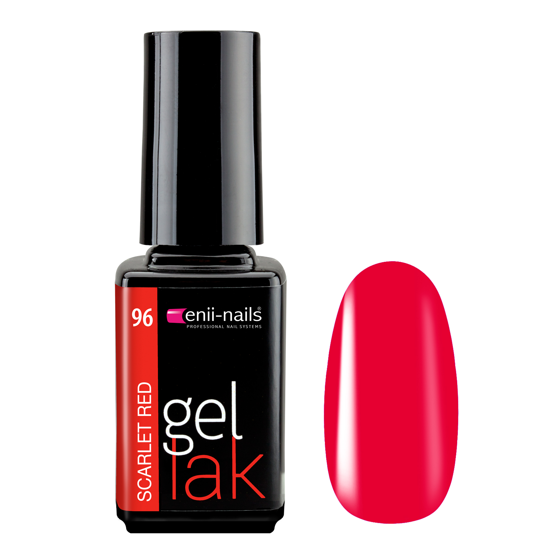 ENII-NAILS Gel lak Scarlet Red 5 ml