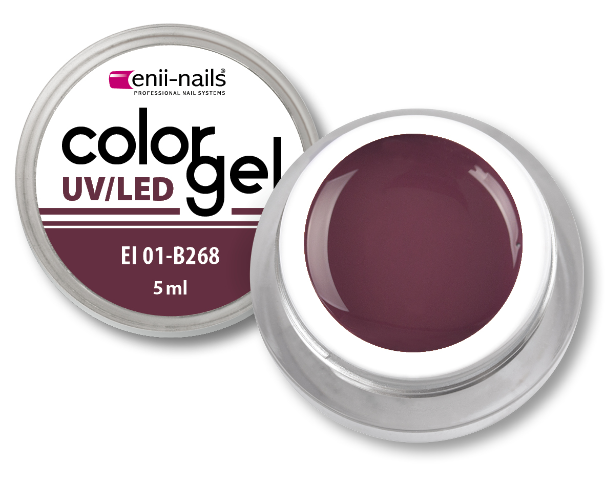 ENII-NAILS Barevný UV/LED gel 5 ml č.268