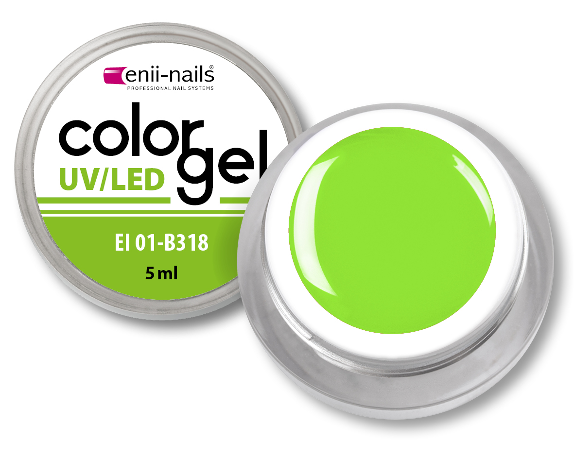 ENII-NAILS Barevný UV/LED gel 5 ml č.318