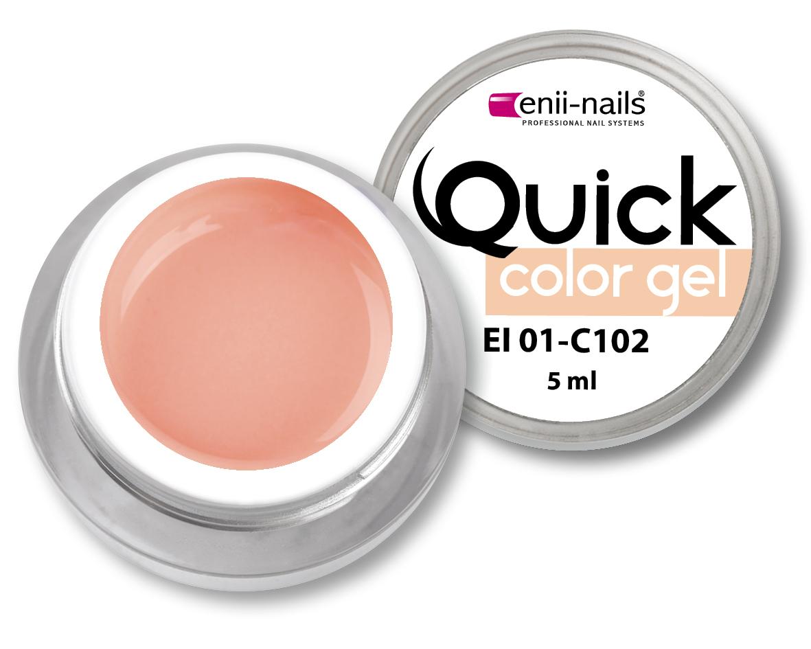 ENII-NAILS Quick Color Gel č.102 5 ml
