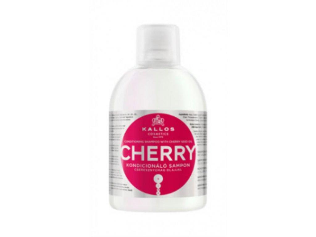 Hydratačný šampón s výťažkom z jadier čerešní na suché vlasy 1000ml