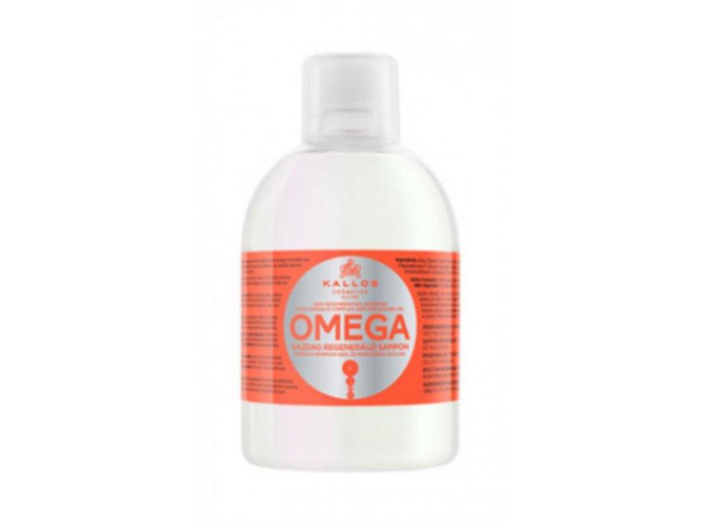Omladzujúci a regeneračný šampón s Omega-6 komplexom a makadamiovým olejom 1000ml