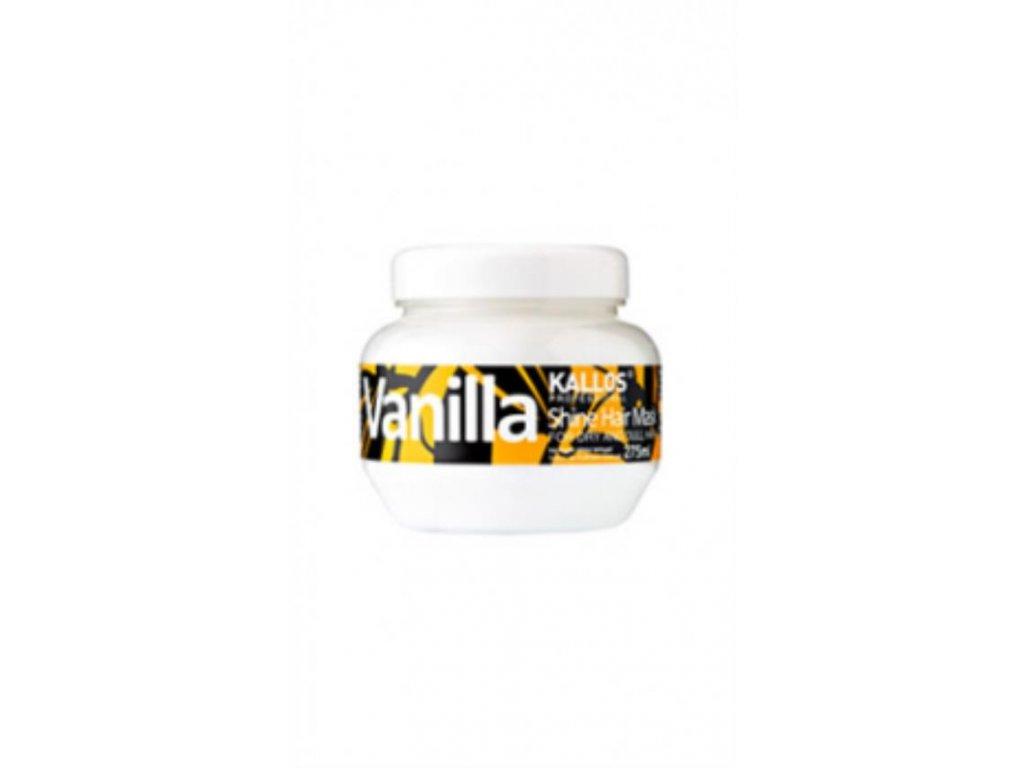 Vanilla - maska na suché vlasy bez lesku 275 ml