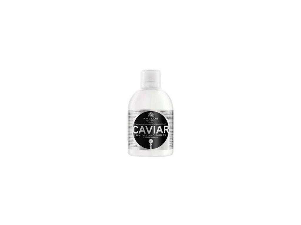 Regeneračný šampón s extraktom z kaviáru 1000 ml