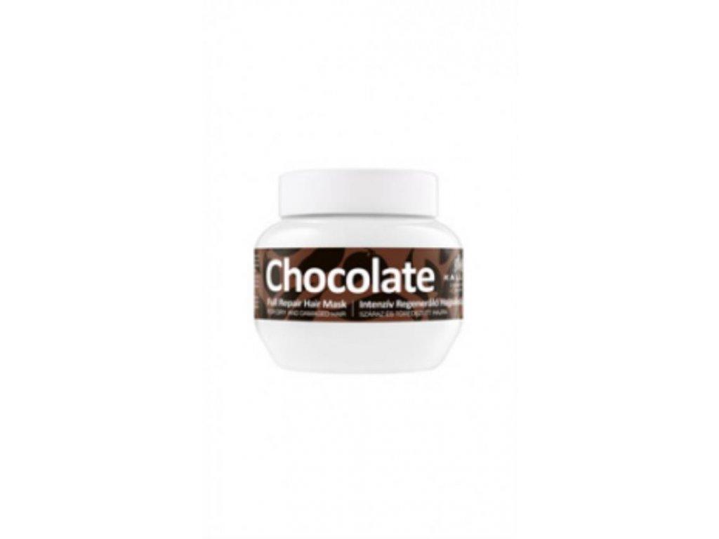 Maska čokoládová pre regeneráciu suchých, lámavých vlasov 275 ml