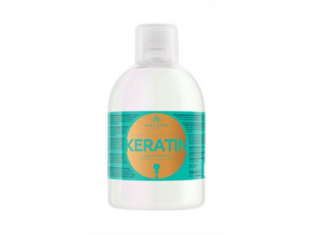 Šampón s keratínom a mliečnymi proteínmi 1000 ml