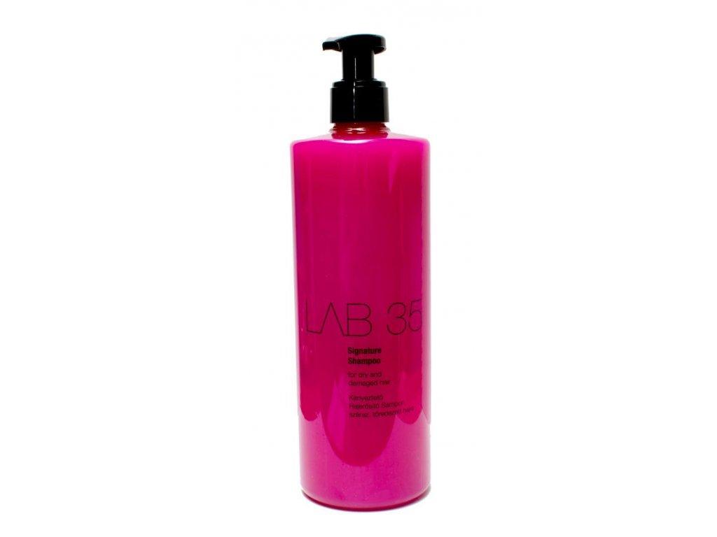 Šampón na regeneráciu poškodených vlasov 500 ml