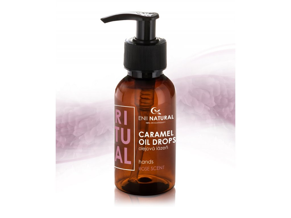 CARAMEL OIL DROPS 125 ML