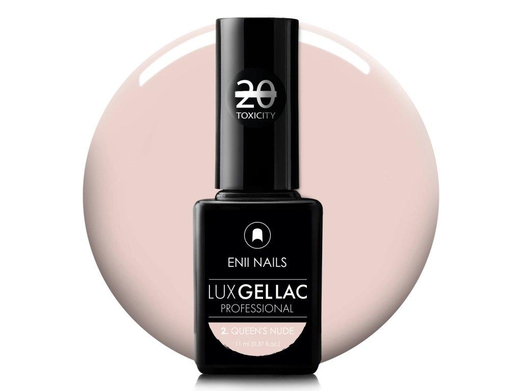 Lux gel lac 2 queens nude