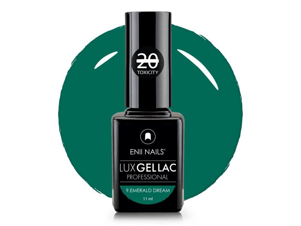 Lux Gel Lac 9 Emerald Dream
