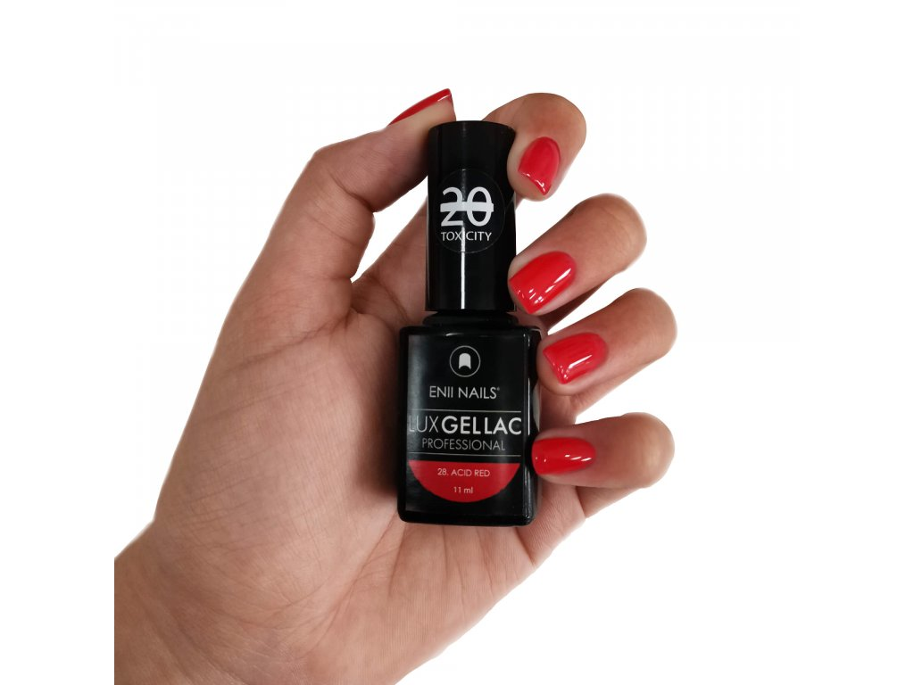 14033 lux gel lac 28 acid red