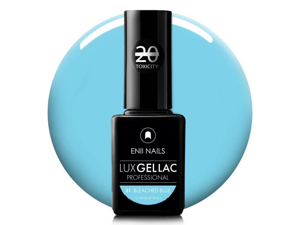 LUX GEL LAC 31. BLEACHED BLUE 11 ml