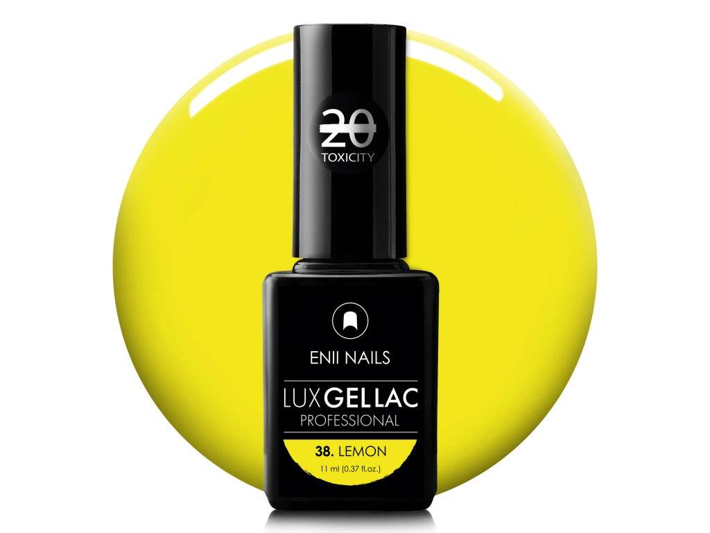 LUX GEL LAC 38. LEMON 11 ml