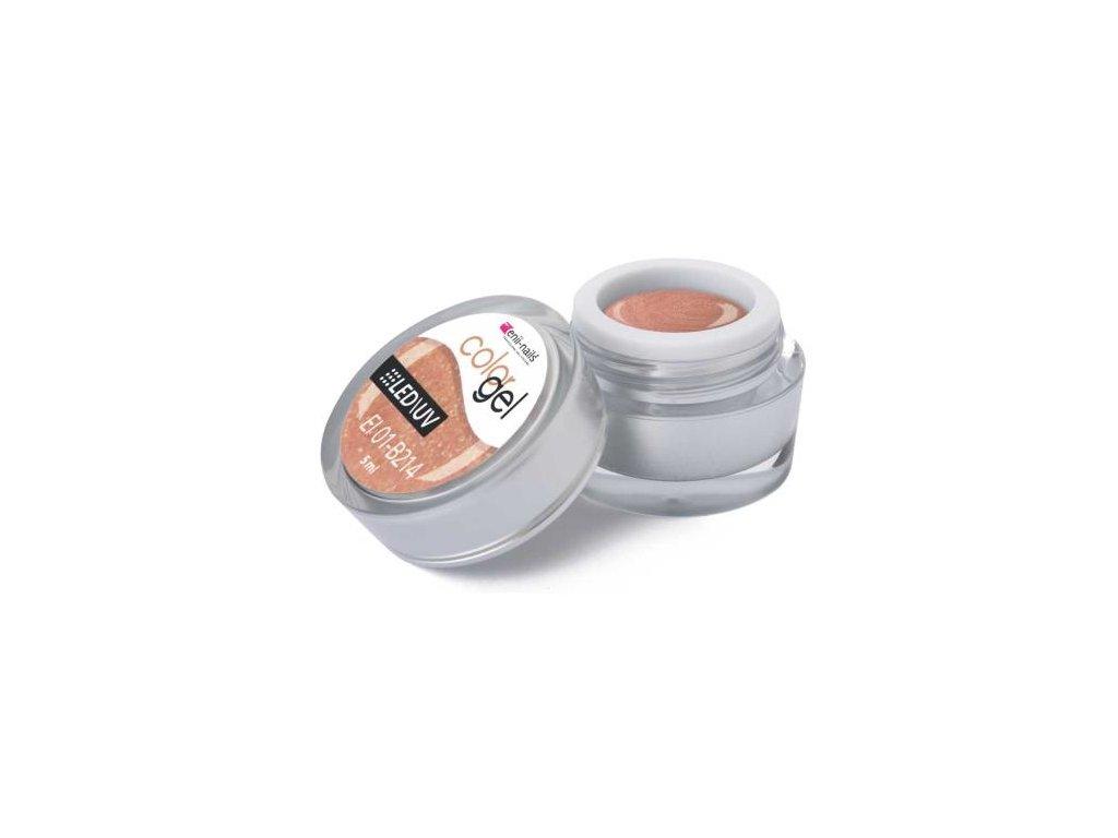 Farebný UV gél 5 ml č.214