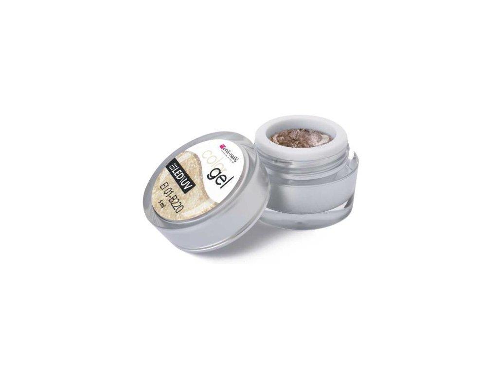 Farebný UV gél 5 ml č.220