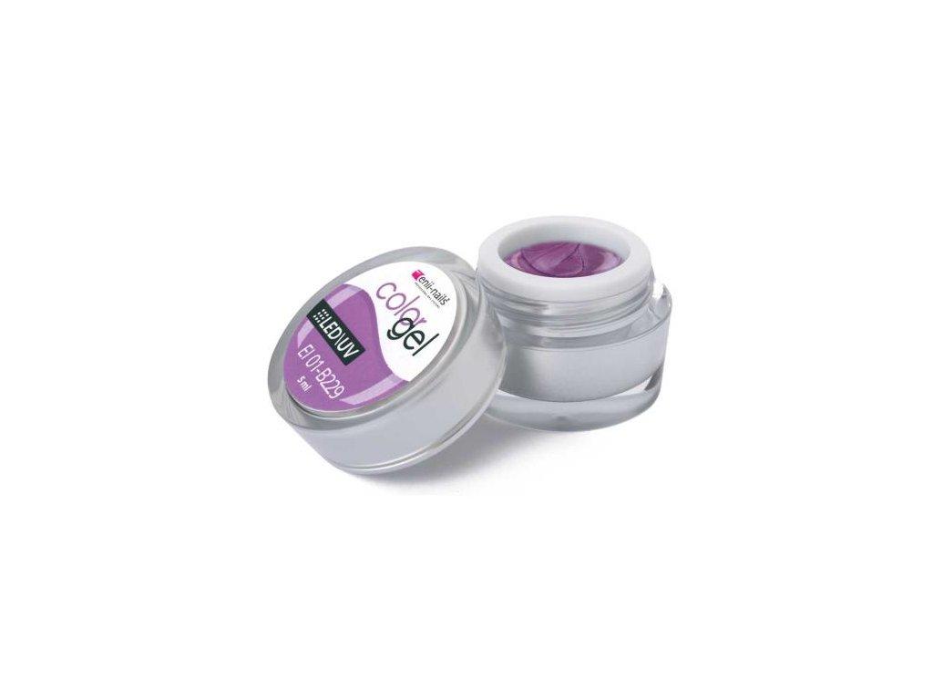 Farebný UV gél 5 ml č.229