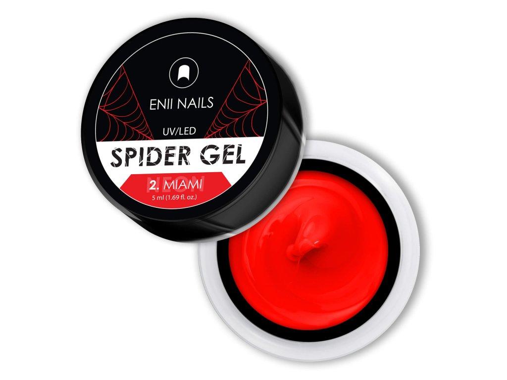 NEON SPIDER GEL 2 MIAMI 32X32mm