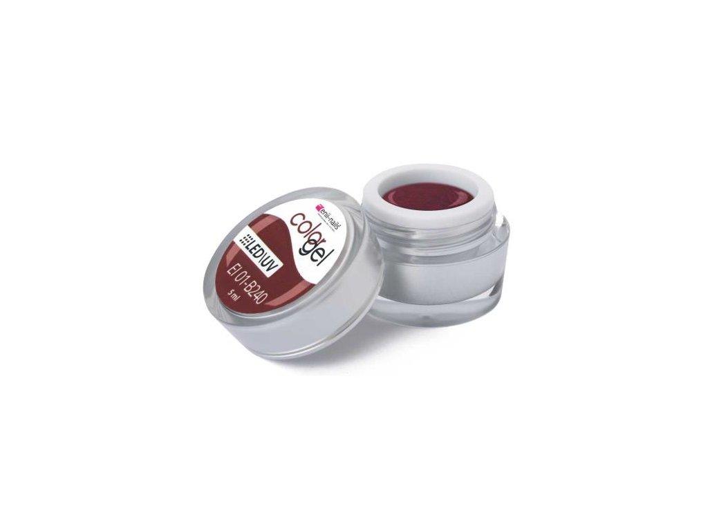 Farebný UV gél 5 ml č.240