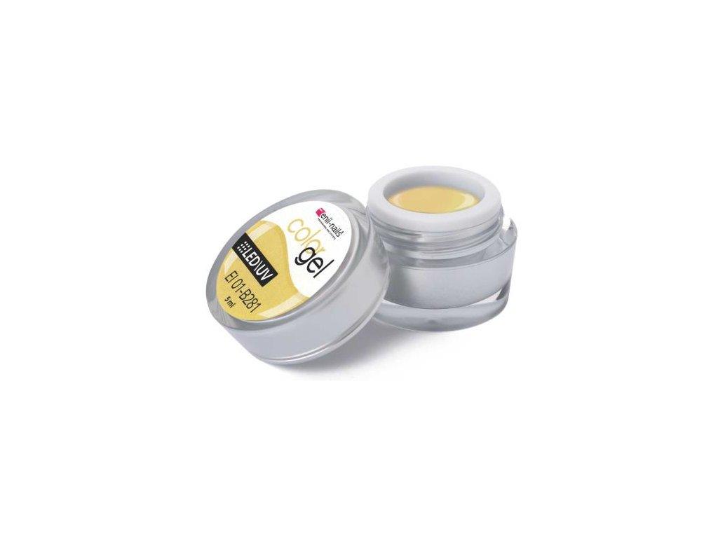 Farebný UV gél 5 ml č.281