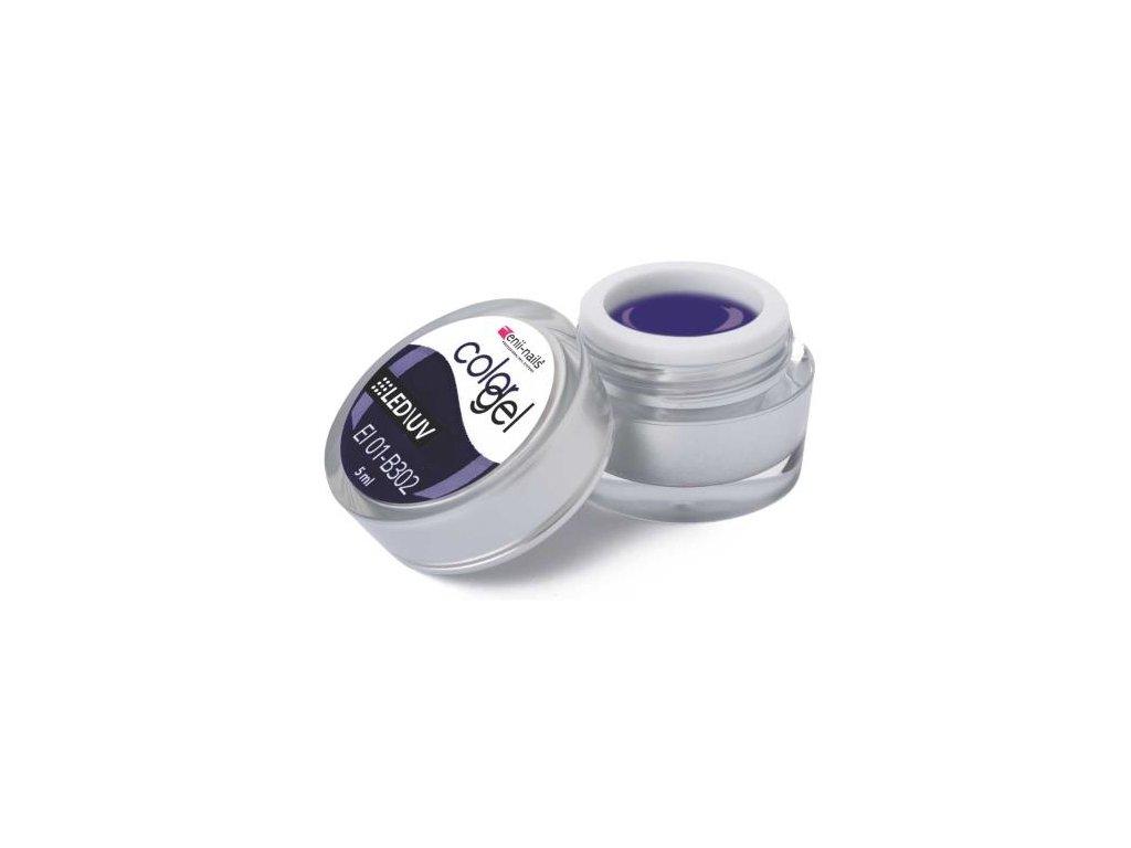 Farebný UV gél 5 ml č.302