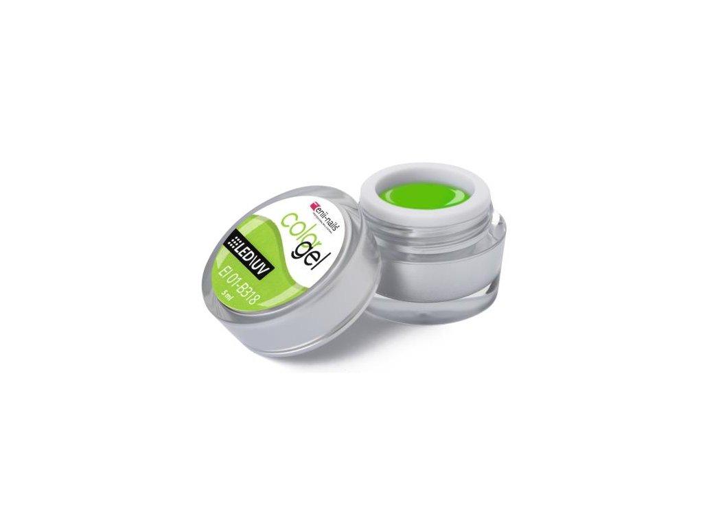 Farebný UV gél 5 ml č.318