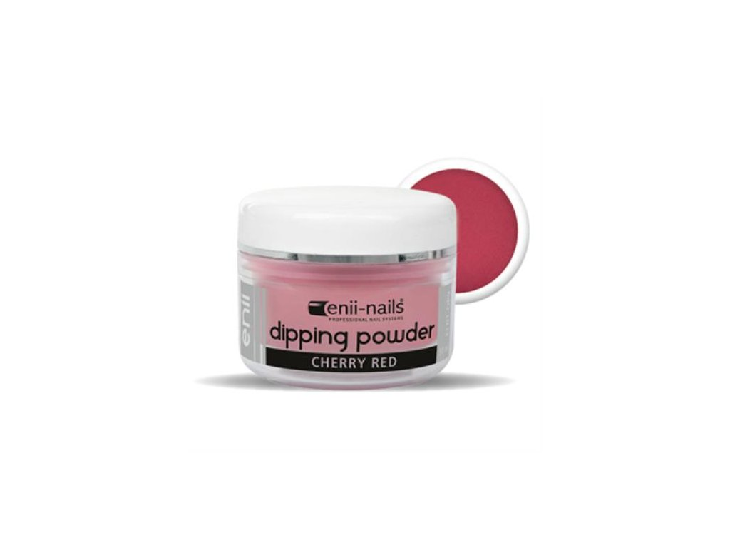 ENII DIPPING POWDER - cherry red 30 ml
