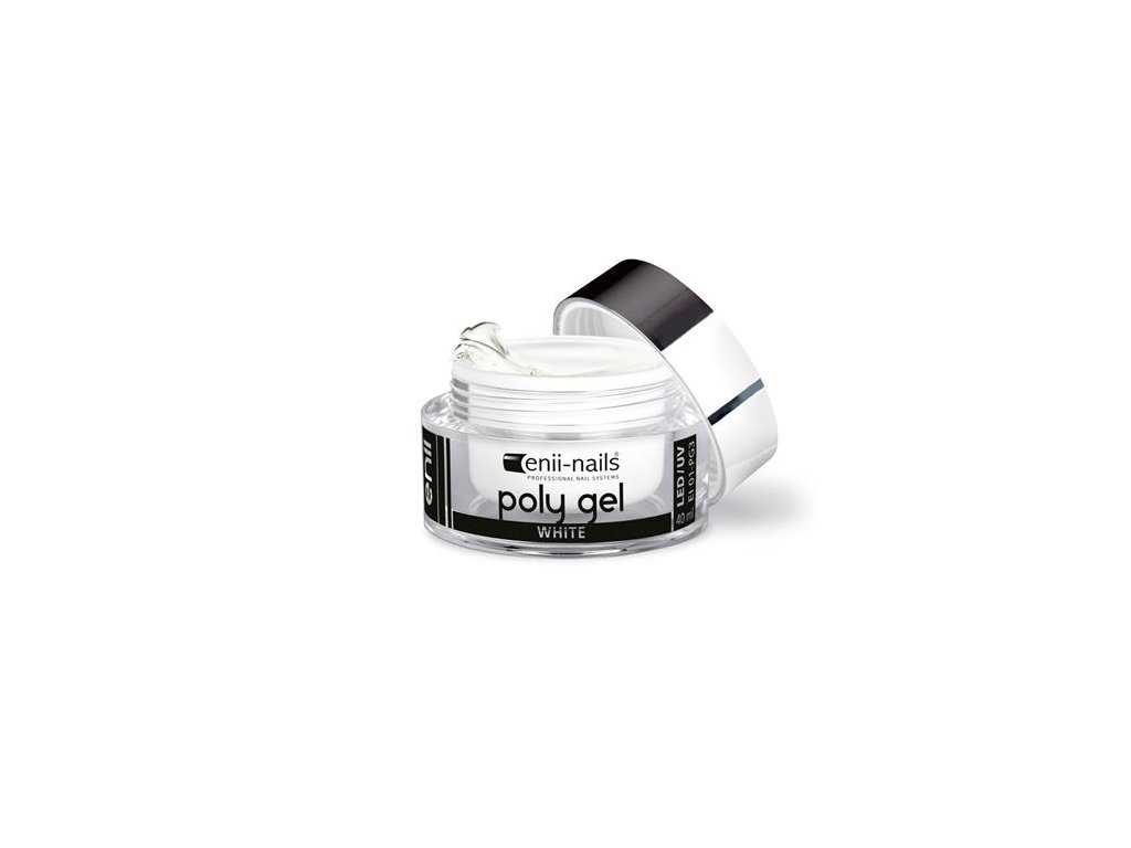 ENII POLY GEL - white 10 ml