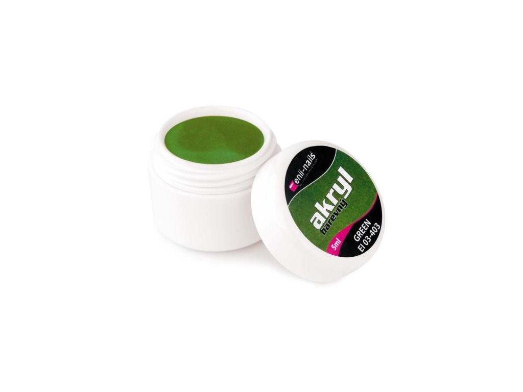Farebný akryl Green 5 ml