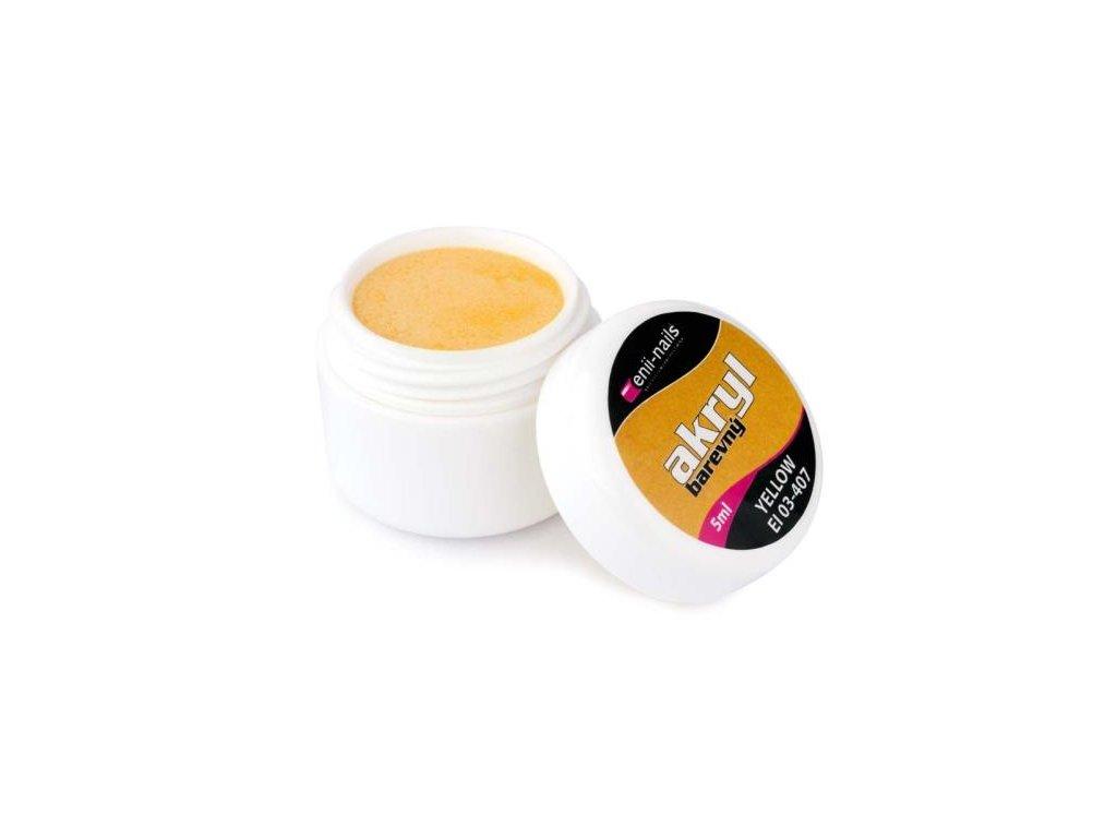 Farebný akryl Yellow 5 ml
