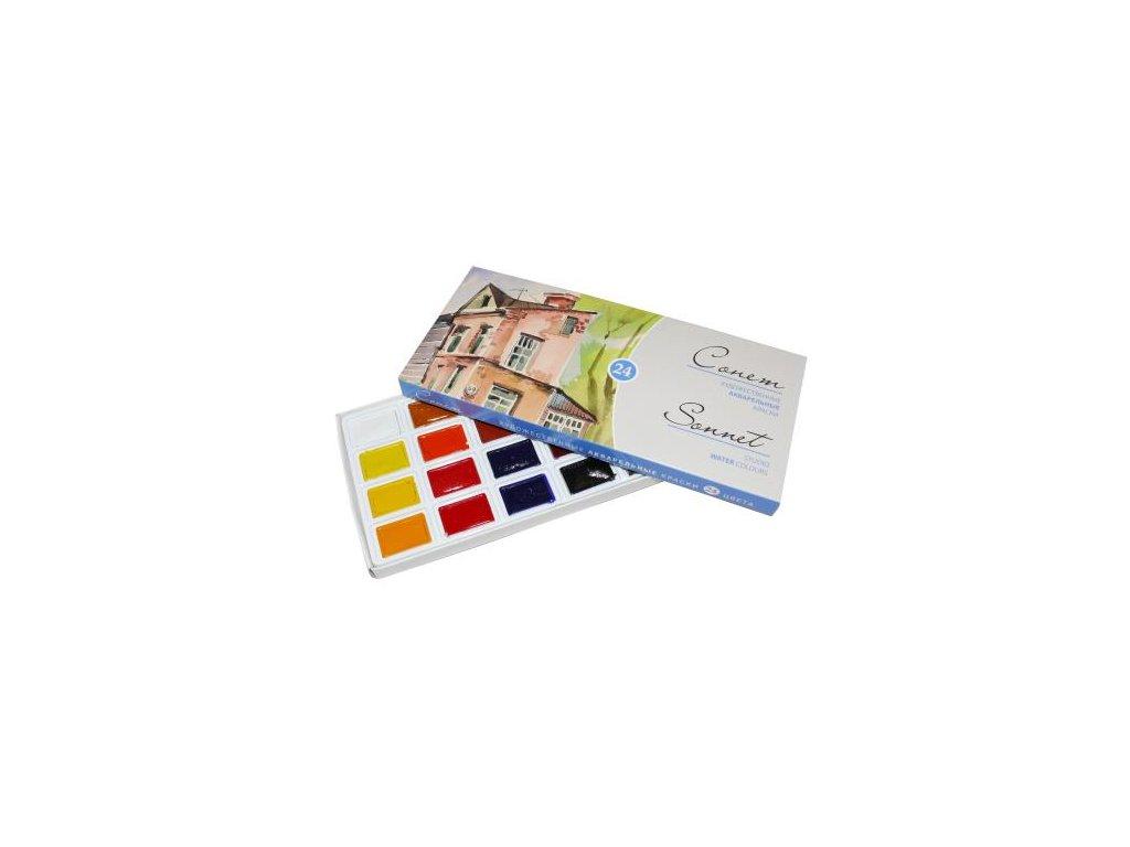 Akvarelová sada SONET 24 ks