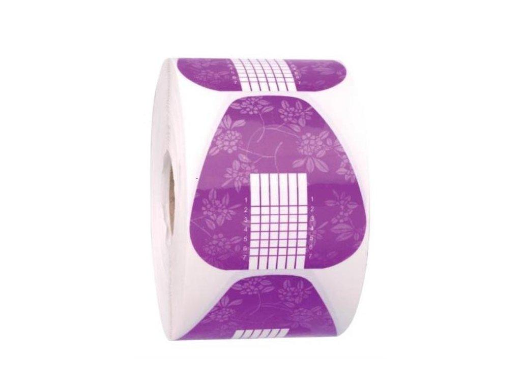 Nechtová forma – papierová fialová 100 ks