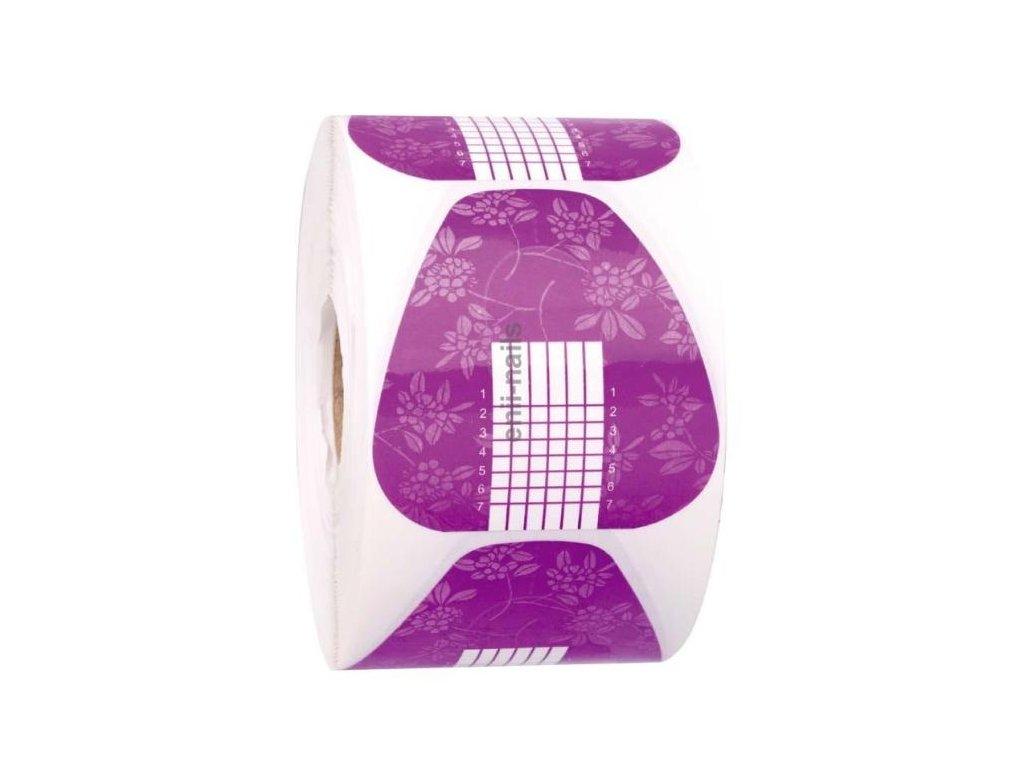 Nechtová forma – papierová fialová 500 ks
