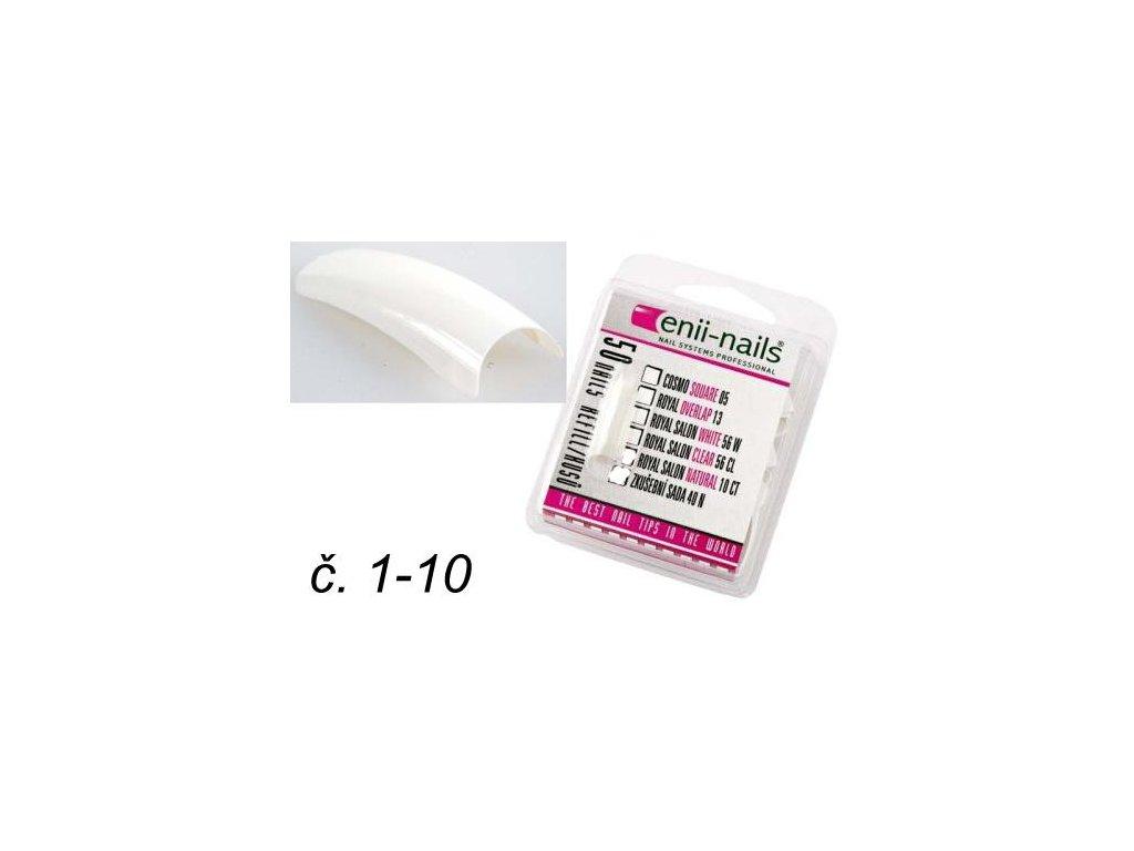 Nechtové tipy Royal white, bal. veľkosť č.1-10