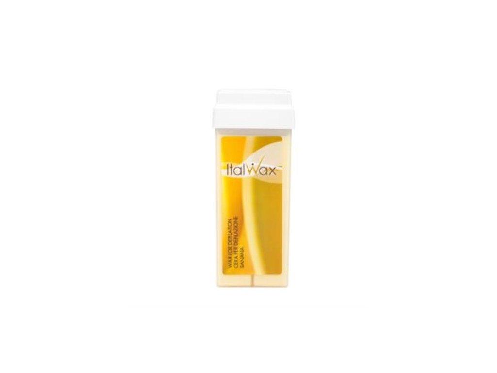 ItalWax Depilačný gélový vosk BANÁN 100 g