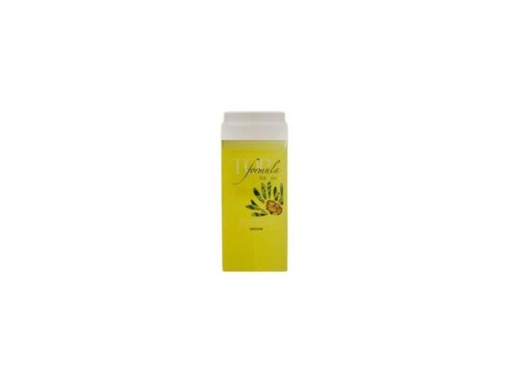 ItalWax depilačný olejový vosk top formula argán 100 ml