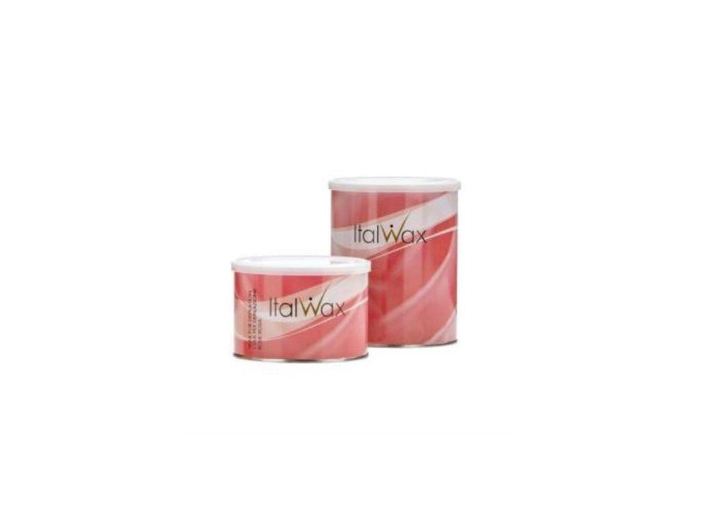 ItalWax Depilačný vosk v plechovke RUŽA 800 g