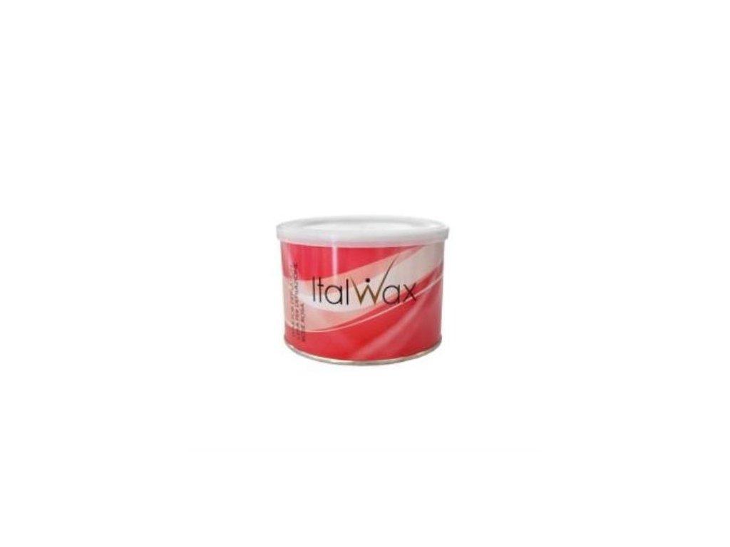ItalWax Depilačný vosk v plechovke RUŽA 400 g
