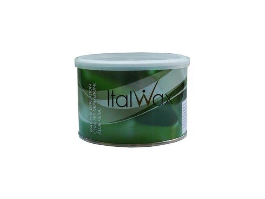 ItalWax Depilačný vosk v plechovke ALOE VERA 400 g