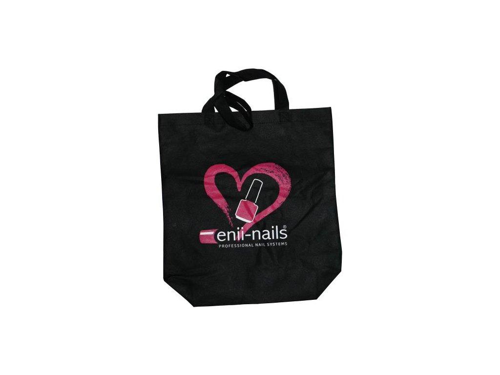 Čierna taška z netkanej textílie enii-nails
