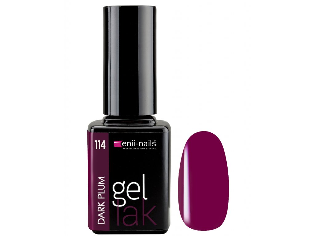 Gél lak Dark Plum 11 ml