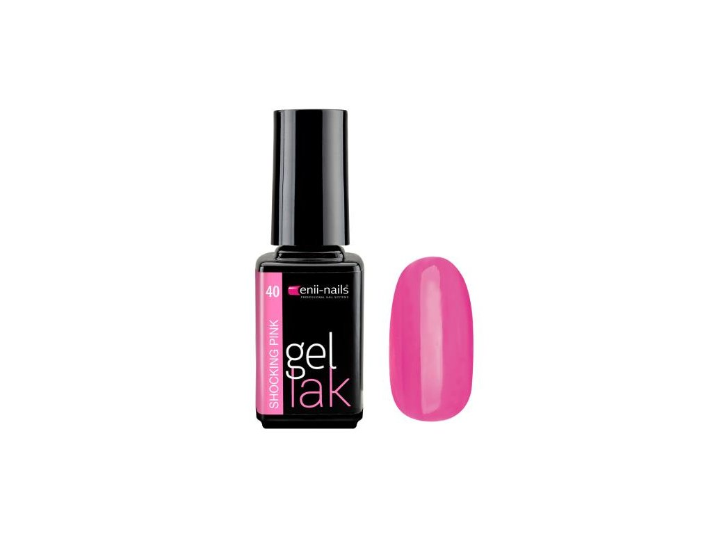 Gél lak Shocking Pink 5 ml