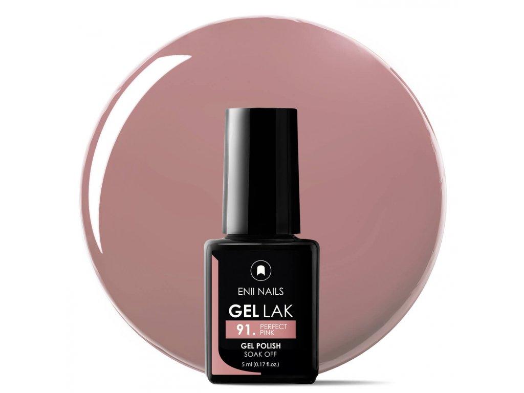 Gél lak Perfect Pink 5 ml