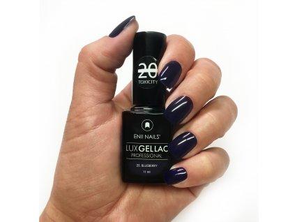 14021 lux gel lac 25 blueberry